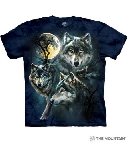 Moon Wolves Collage T-shirt | The Mountain®